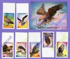 Kyrgyzstan 1995. Birds Of Prey. Fauna. Imperforated. MNH - Kirgisistan