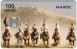 MAROC A-206 Chip StudioJauson - Animal, Horse, Traditional Warriors - Used - Morocco