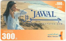 MAROC A-270 Prepaid Telecom - People, Woman - Used - Morocco