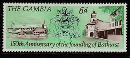 Gambia 1966 The 150th Anniversary Of Bathurst 6 P  Multicoloured SW: 232 *M/M - Gambia (1965-...)