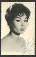 DANY CARREL - Vintage POSTCARD With ORIGINAL Autograph (ORI-01) - Actors