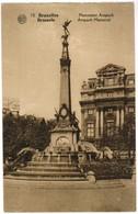 Bruxelles Monument Anspach (pk48649) - Musées