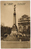 Bruxelles Monument Anspach (pk48649) - Musea