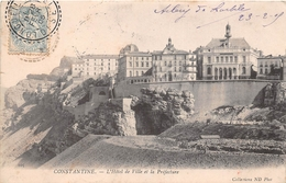 ¤¤  -  ALGERIE   -   CONSTANTINE   -  L'Hôtel De Ville Et La Préfecture    -  ¤¤ - Constantine