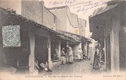 ¤¤  -  ALGERIE   -   CONSTANTINE   -  Une Rue Du Quartier Des Tailleurs  -  Petits Métiers    -  ¤¤ - Constantine