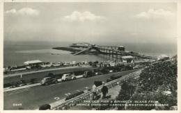 AVON - WESTON SUPER MARE - THE OLD PIER AND BIRNBECK ISLAND FROM PRINCE CONSORT GARDENS RP Av379 - Weston-Super-Mare