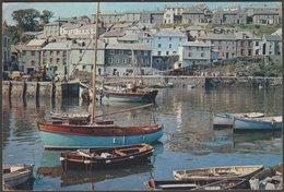 The Harbour, Mevagissey, Cornwall, 1960 - J Arthur Dixon Postcard - England