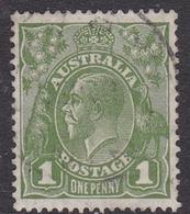 Australia SG 125 1931 King George V,1d Green, C Of A Watermark, Used - 1913-36 George V: Heads