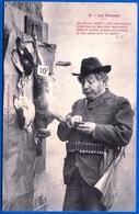 A. BERGERET CARTE HUMORISTIQUE FANTAISIE VERS 1900 N° 3 LA CHASSE NON ÉCRITE - NOTRE SITE Serbon63 - People