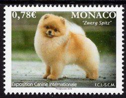 Monaco - 2018 - International Dog Exhibition - Mint Stamp - Monaco