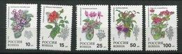 Russie ** N° 5988 à 5992 - Fleurs - Other