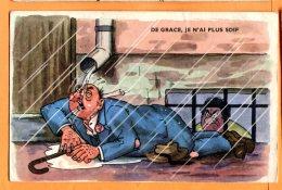 HC900, De Grace, Je N'ai Plus Soif !, GP La Rose, 21688/1, Circulée 1955 - Humour