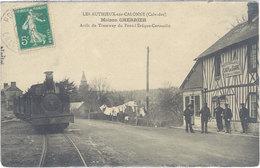 LES AUTHIEUX SUR CALONNE - Maison Cherrier - Arret Du Tramway Du Pont L' Eveque-Corneille  (635 ASO) - France