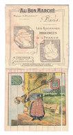 FIGURINA CROMOLITOGRAFIA PUBBLICITARIA  AU BON MARCHE'  Serie JE1 - Au Bon Marché