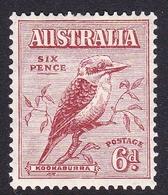 Australia SG 146 1932 Kookaburra 6d Red-brown, Mint Hinged - 1913-36 George V : Other Issues