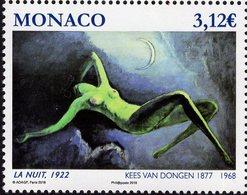 Monaco - 2018 - Nudes In Arts - Kees Van Dongen - The Night - Mint Stamp - Monaco
