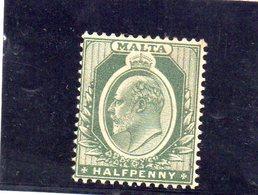 MALTE 1903-4 * - Malte (...-1964)