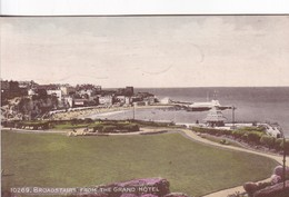 BROADSTAIRS FROM THE GRAND HOTEL.J SALMON LTD. CIRCA 1936. CIRCULEE- BLEUP - Angleterre
