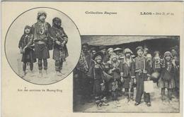 CPA Laos Types Non Circulé Raquez Ethnic - Laos