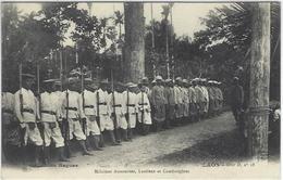 CPA Laos Types Non Circulé Raquez Ethnic Cambodge Annam - Laos