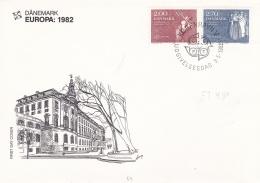 Denmark FDC 1982 Europa CEPT  (DD17-51) - Europa-CEPT
