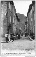 D09 CPA < BELESTA  - Vue Animée De La RUE DU MARCHE - Frankrijk
