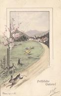 Fröhliche OSTERN - Gel.1902, Gute Erhaltung - Ostern
