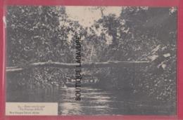 GUYANE---Dans Un Crique Passage Difficile---precurseur - Cayenne