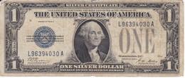 BILLETE DE ESTADOS UNIDOS DE 1 DOLLAR DEL AÑO 1928 A LETRA L-A WASHINGTON  (BANK NOTE) - Billetes De La Reserva Federal (1928-...)