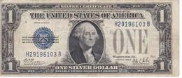 BILLETE DE ESTADOS UNIDOS DE 1 DOLLAR DEL AÑO 1928 B LETRA H-B WASHINGTON  (BANK NOTE) - Billetes De La Reserva Federal (1928-...)