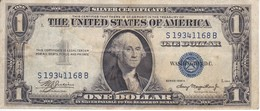 BILLETE DE ESTADOS UNIDOS DE 1 DOLLAR DEL AÑO 1935 A LETRA S-B WASHINGTON  (BANK NOTE) - Billetes De La Reserva Federal (1928-...)