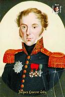 Carte Postale, Célébrités, Napoleon, French Commanders Of Napoleonic Wars, Jacques Laurent Gilly - Politieke En Militaire Mannen