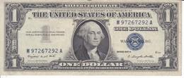 BILLETE DE ESTADOS UNIDOS DE 1 DOLLAR DEL AÑO 1957 A LETRA M-A WASHINGTON  (BANK NOTE) - Billetes De La Reserva Federal (1928-...)
