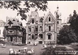 76----CAUDEBEC EN CAUX--hôtel De France--j HYACINTHE Propriétaire---voir 2 Scans - Caudebec-en-Caux