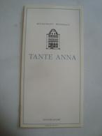 RESTAURANT WEINHAUS TANTE ANNA. DÜSSELDORF (ENGLISH VERSION) - DEUTSCHLAND, GERMANY, 1990 APROX. - Other