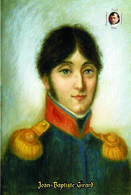 Carte Postale, Célébrités, Napoleon, French Commanders Of Napoleonic Wars, Jean-Baptiste Girard 2 - Politieke En Militaire Mannen