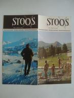 STOOS 1300-2000 M ÜBER MEER. ZENTRALSCHWEIZ. SUISSE CENTRALE. CENTRAL SWITZERLAND - SCHWEIZ, 1966. M. BIEDER. - Dépliants Touristiques