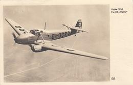 """R! FOCKE WOLF - Fw.58 """"Weihe"""", Mehrzweckfugzeug Übungsflug F.Blindflug, Orig.Karte Gel.als Feldpost 1940, Gute Erhaltung - Guerre 1939-45"""