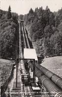 PARTHENEN (Vorarlberg) - Tromenir Schrägaufzug, Fotokarte (2) Um 1950?, Stempel Gleisdorf, Sehr Seltene Karte, Gute ... - Sonstige