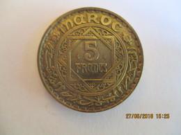 Morocco 5 Francs 1365 - Maroc