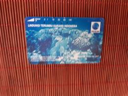 Phonecard Sea Life  Used - Indonesia