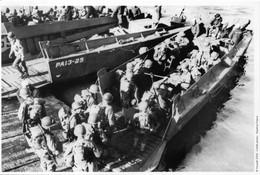 WW2 - Embarquement Sur Des Péniches Le 5 Juin 1944 En Angleterre - 1939-45