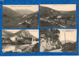 01- THOIRETTE -  Lot De 4 Cartes ( Pont Sur L'Ain, Route De Matafelon, Coisia )  Bon état - CPA - France