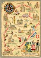 FRANCHE COMTE(BARRE  DAYEZ) - Maps