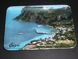 Ancien Cendrier Vide-poche Plastique Ramasse-monnaie, Capri Italie - Ashtrays