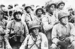 WW2 -  Fantassins Américains à Bord D'une Barge Le 06 Juin 1944 - 1939-45