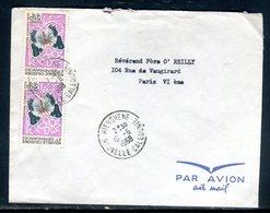 Nouvelle Calédonie - Enveloppe De Hienghene Pour Paris En 1968 - Ref J22 - Briefe U. Dokumente