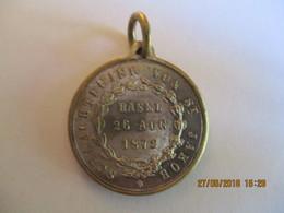 Suisse: Bâle Médaille Commémorative De La Bataille De St Jacques 1872 - Professionals / Firms