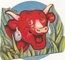 Carton à Système Roulette BENJAMIN RABIER - Vache Qui Rit Publicité BEL Pour L'album N° 2 - Chromos