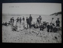 Cpa/pk La Plage - Les Jeux - Enfants Beach Play - Bredene
